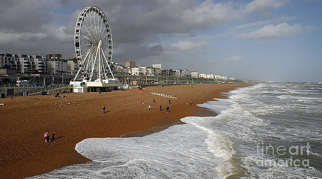 Big Wheel Brighton Seafront by Urban Shooters