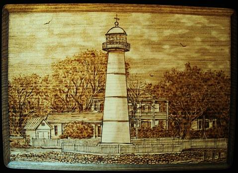 Biloxi Lighthouse by Bob Renaud