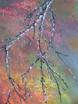Birch Tree Branch by Donna Jeanne  Carver