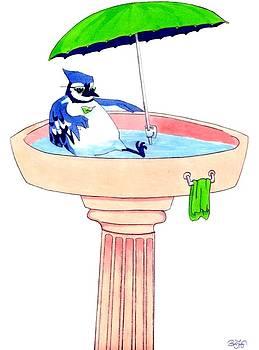 Bird Bath by Ben Leary