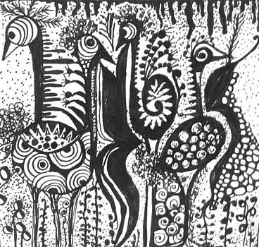 Birds by Zainab Elmakawy