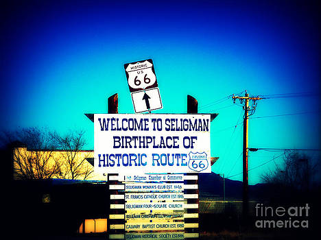 Susanne Van Hulst - Birthplace of Route 66
