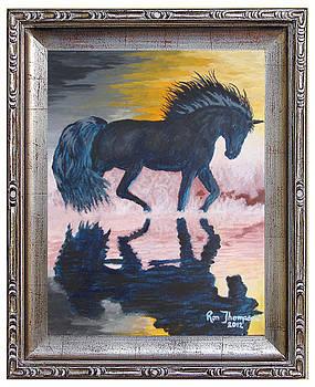 Black Unicorn by Ron Thompson