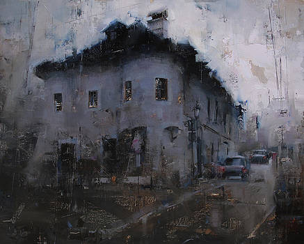 Blackness Over the Lower Street by Tibor Nagy