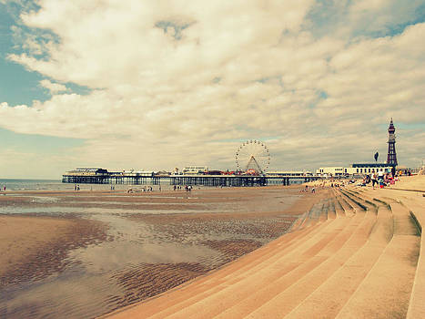 Blackpool Beach by Sarah Couzens