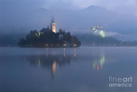Bled at dawn by Tomaz Kunst