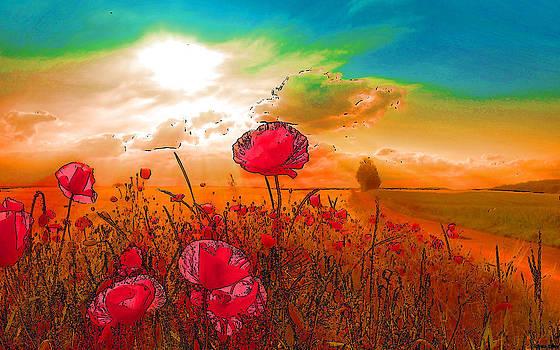 Blissful Flowering by Viveka Singh