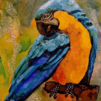 Blue and Gold by Carol  Nelson