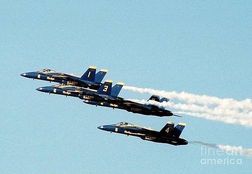 Blue Angels by Clint Day