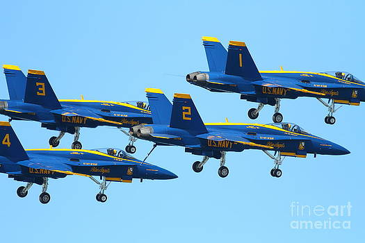 Wingsdomain Art and Photography - Blue Angels F-18 Super Hornet . 7D7990