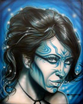 Blue Beauty by Tim  Scoggins