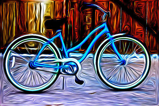 Thomas cummings artwork for sale palm desert ca for Bicycle painting near me