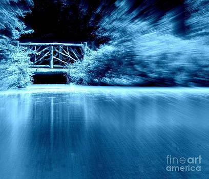 Blue Bridge by Maria Scarfone