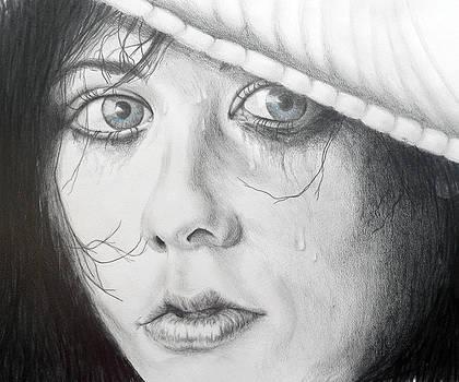 Blue Eye Beauty by Carol McLagan
