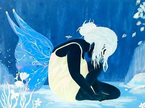 Blue fairy by Nicole Champion