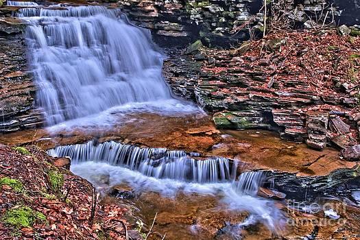 Adam Jewell - Blue Falls And Pools