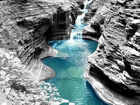 Blue Falls by John Carncross