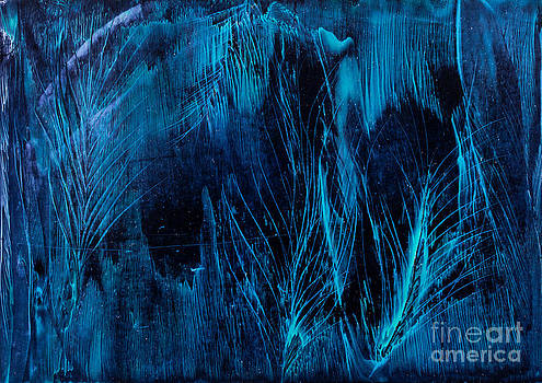 Simon Bratt Photography LRPS - Blue feathers background art