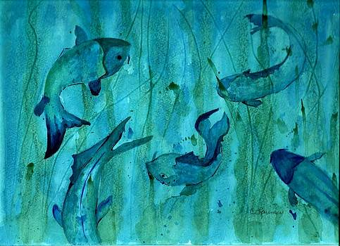 Blue Fish by Constance Larimer