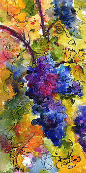 Ginette Fine Art LLC Ginette Callaway - Blue Grapes