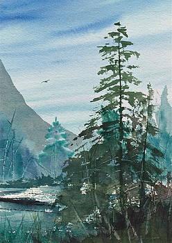 Frank SantAgata - Blue Green pines