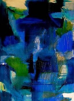 Blue House by Dominique DUMONT