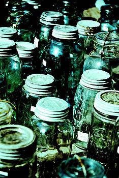 Blue Jars II by Laurianna Murray
