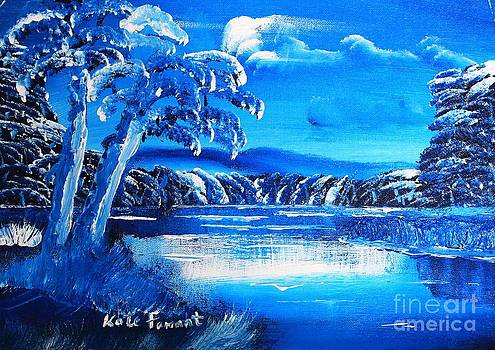 Kate Farrant - Blue Landscape
