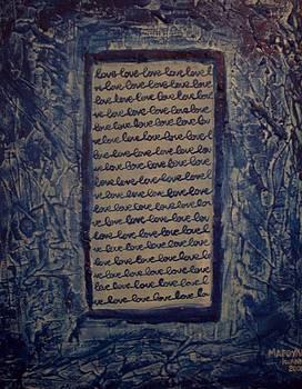 Blue Love by Joanna Marouli