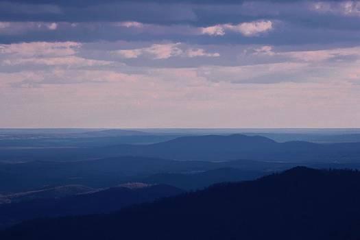 Blue Mountain by Nilanjan Chaks