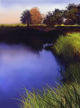Blue Pond by Robert Foster