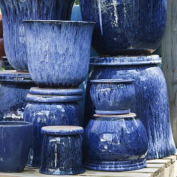 Teresa Mucha - Blue Pots Squared