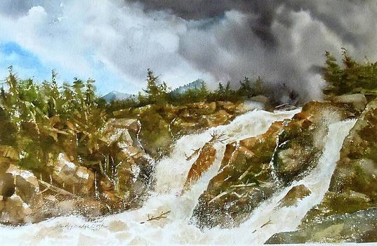 Blue Ridge Flash Fllood by Harding Bush