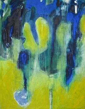 Blue river by Dominique DUMONT