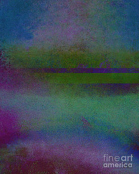 Ricki Mountain - Blue Scape II