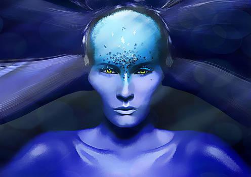 Blue Star by Yosi Cupano