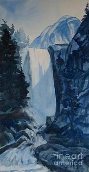 Blue Waterfalls by Pat Crowther