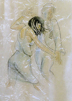 Blues Dancers by Walter Clark