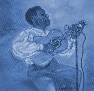 Blues man by Carole Joyce