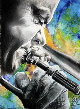 Blues Trombone 1 by Gary Williams