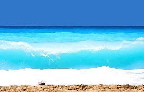 Bluest Beach by Sunkies Fang