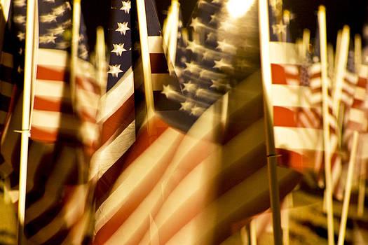 Blured Patriotism by Rick Otto