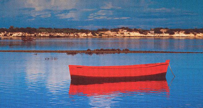 Johnny Sandaire - Boat on Lake