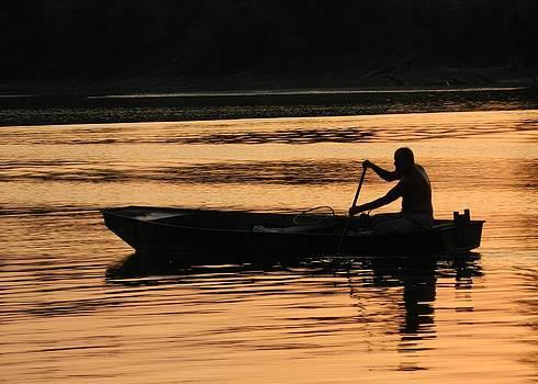 Boatman... by Milan Perosavljevic