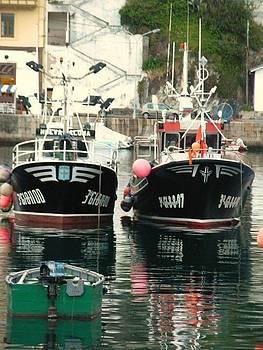 Boats by Jenny Senra Pampin