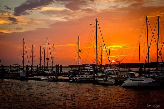 Bonnes Eyes Fine Art Photography - Boats on the River