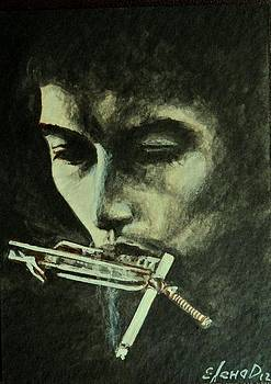 Bob Dylan by Lena Day