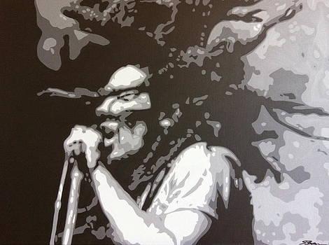 Bob Marley - Skankin' by Siobhan Bevans