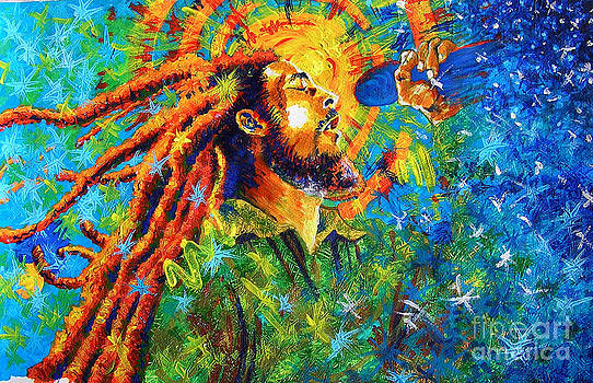 Bob Marley's tribute by Jose Miguel Barrionuevo