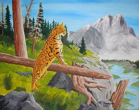 Bobcat Overlook by Ron Thompson
